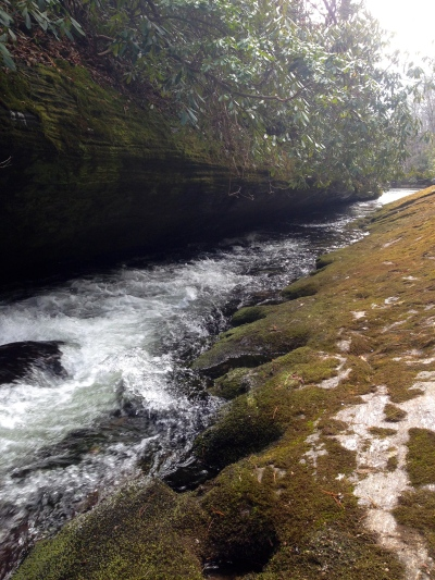Chattooga River Trail - the narrows