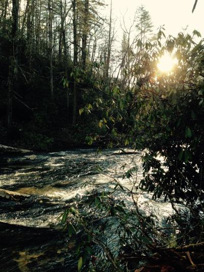 Chattooga River sunrise