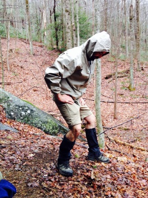 Foothills Trail - latest in hiker fashion