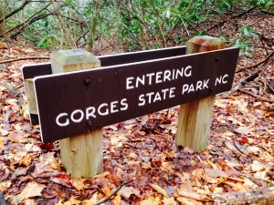 Foothills Trail - Gorges State Park