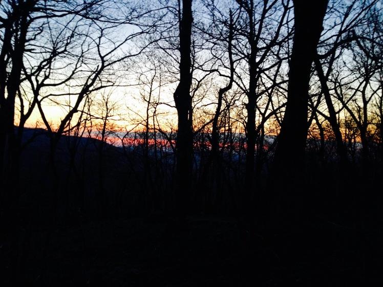 Farlow Gap sunrise