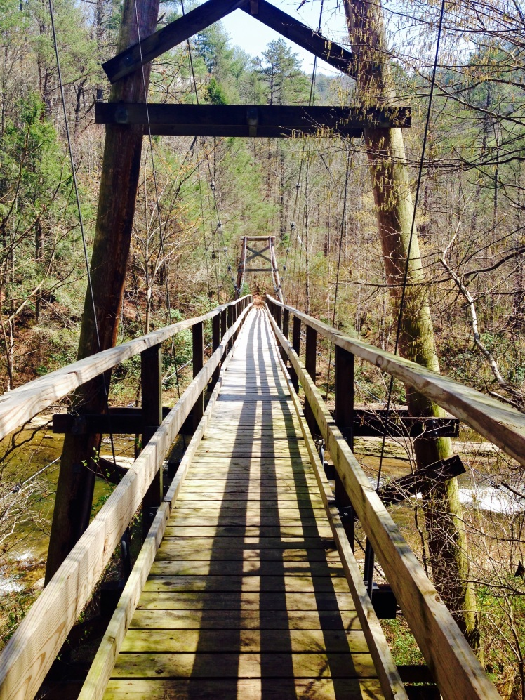 Gorges State Park - Toxaway River bridge