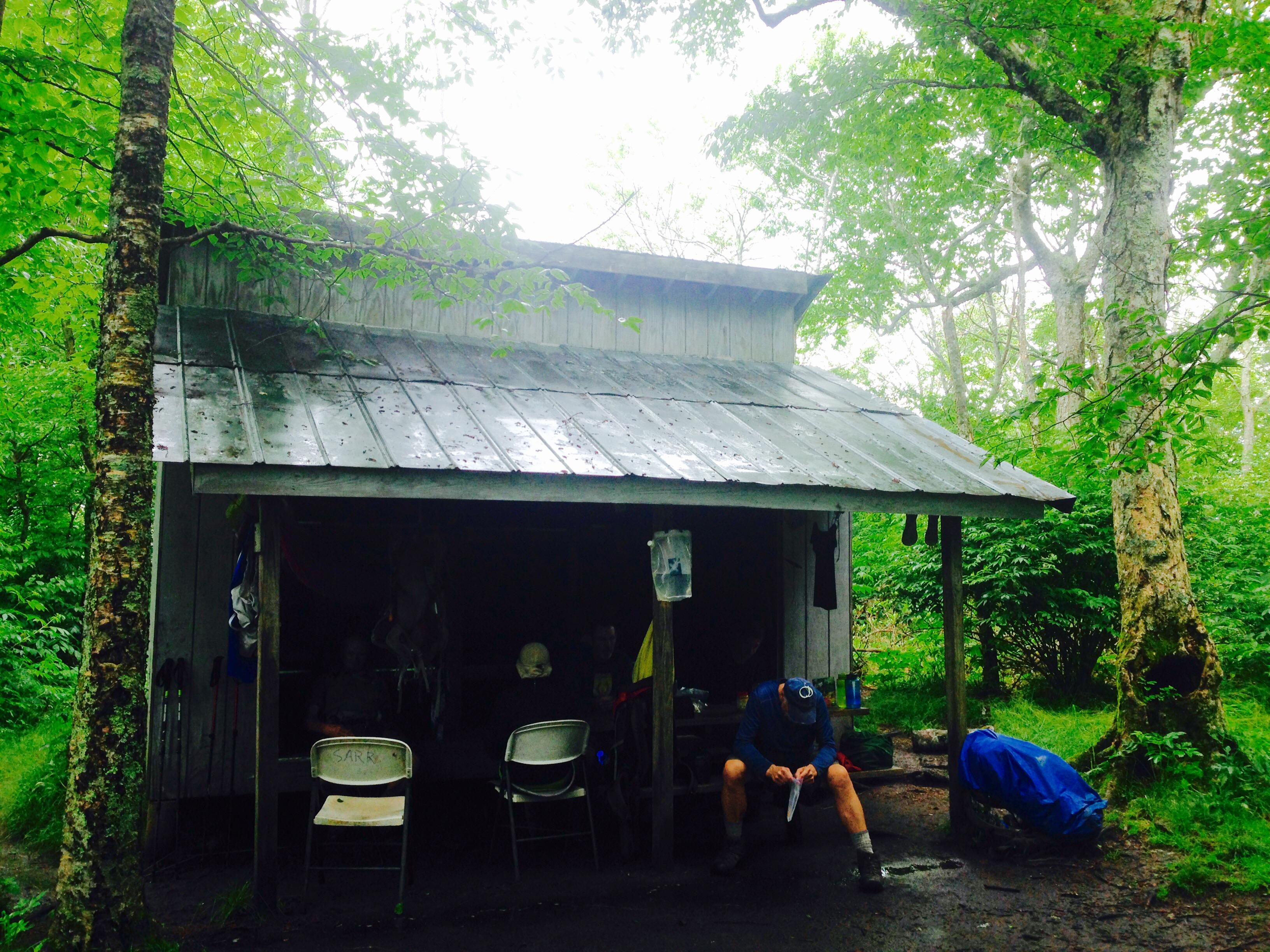 Mountain Man Shelters : Appalachian trail sam s gap to bald mountain shelter