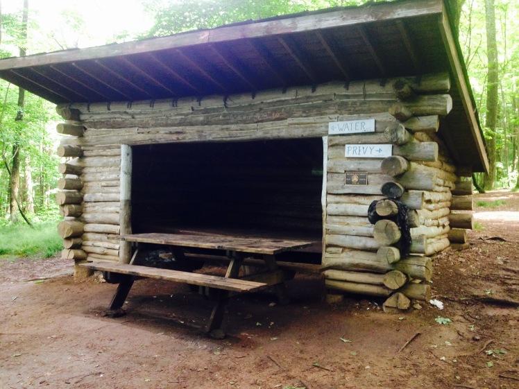Hogback Ridge Shelter