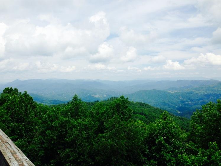 Rich Mountain view