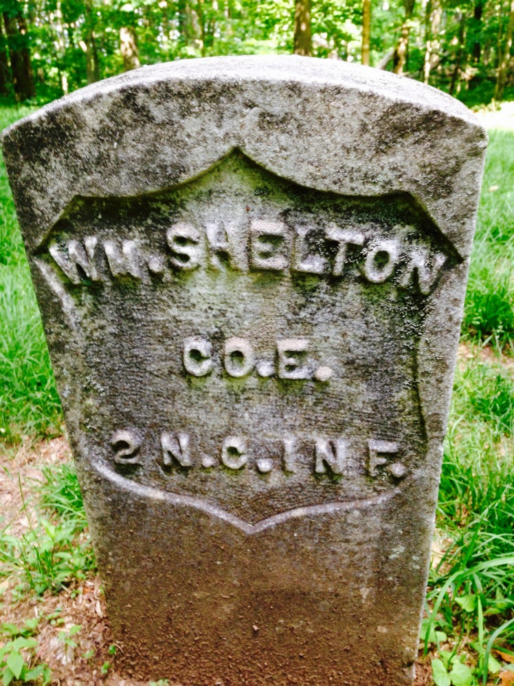 William Shelton grave
