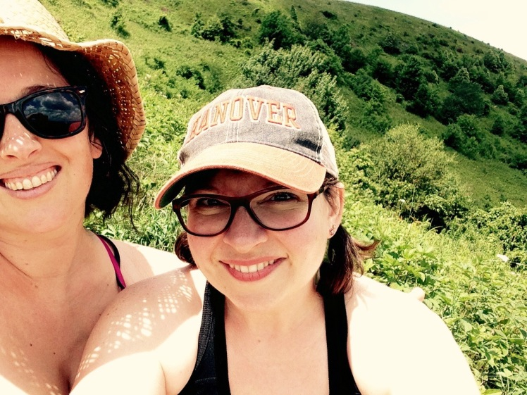 Emily and Beth on Max Patch