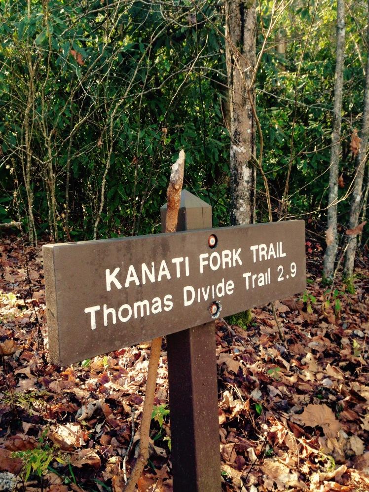 Kanati Fork Trailhead