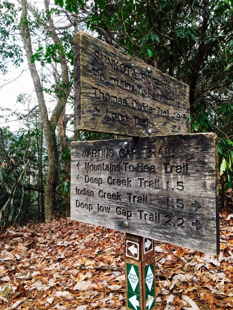 Martins Gap Trail