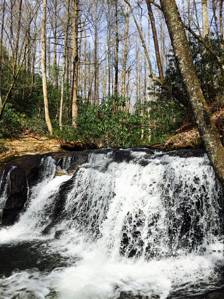 Avery Creek Trail - waterfall