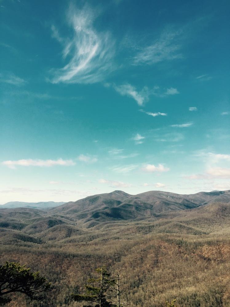 Looking Glass Rock Trail - summit