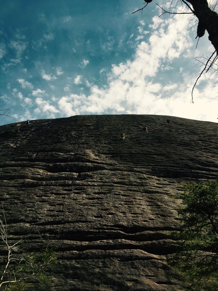 Sunwall Trail - climbers