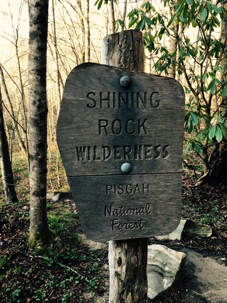 Shining Creek Trail - trailhead