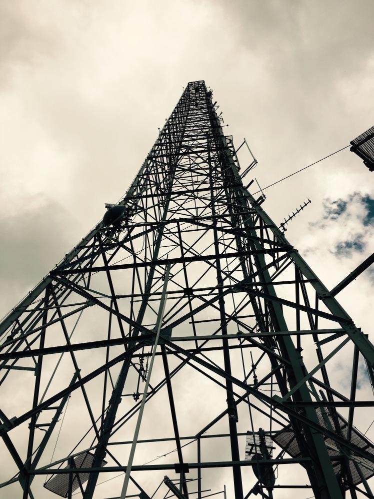 Mt. Pisgah Trail - WLOS tower
