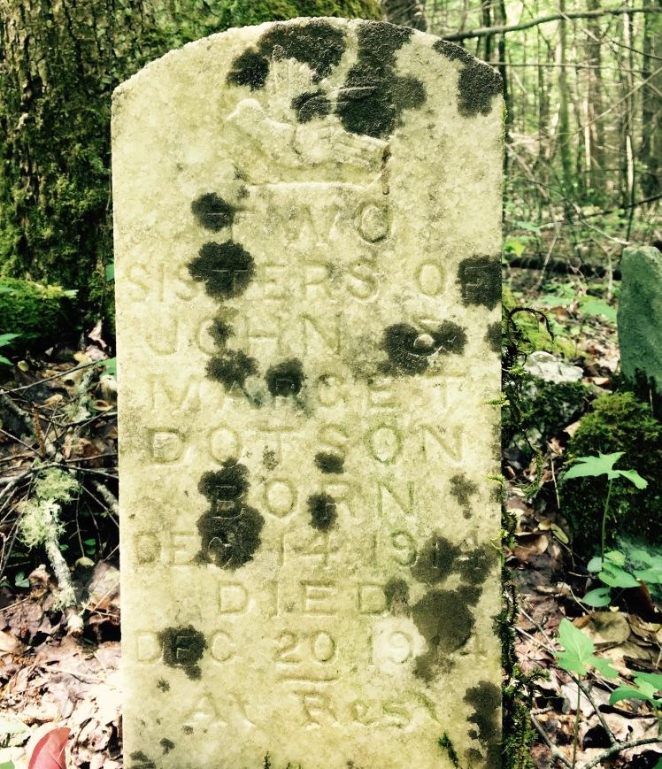 Nichols Cove Trail - Dotson Cemetery