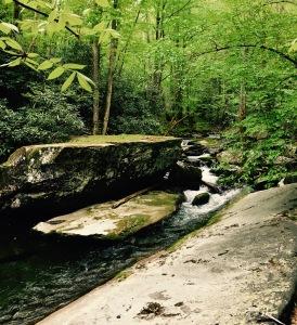 Slickrock Creek Trail - creek