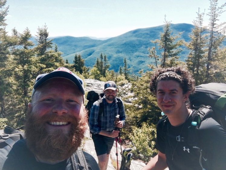 Baker Peak - GBear, Snus, and I