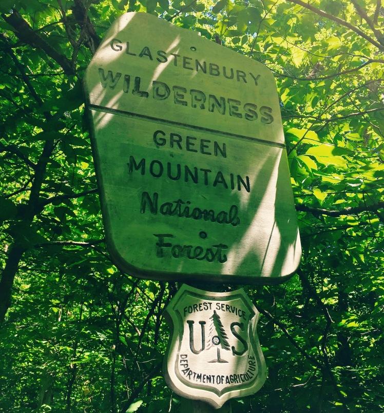 entrance to Glastenbury Wilderness