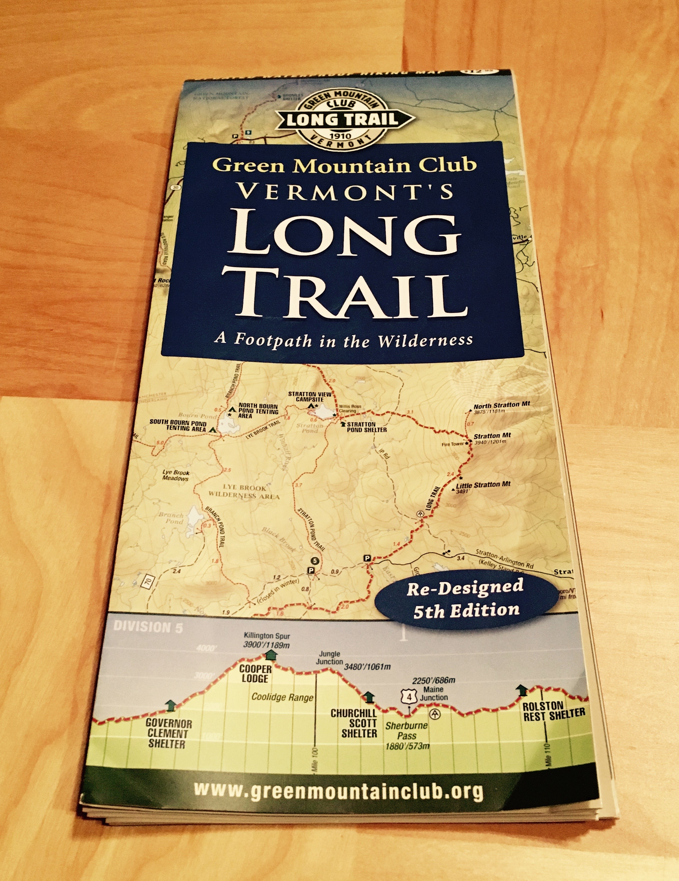 Long Trail map – sweetwilder