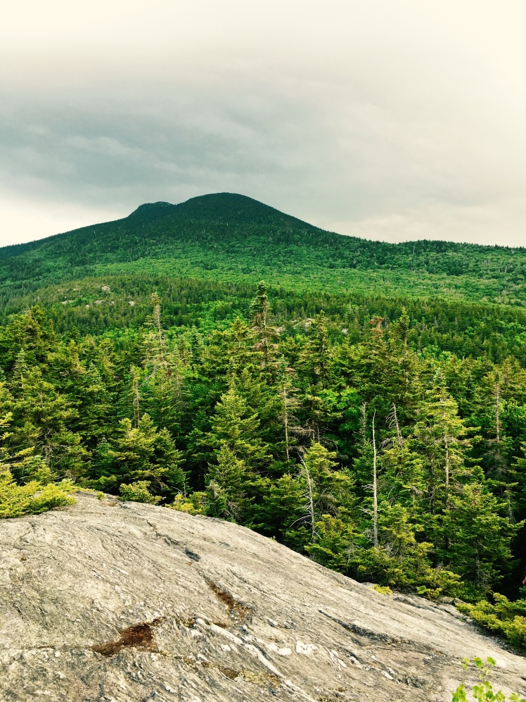 view of Camel's Hump - descent