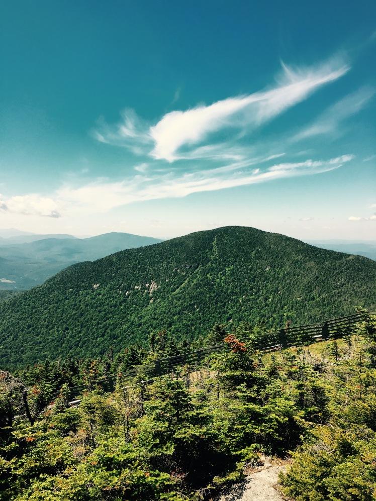 ascent of Jay Peak