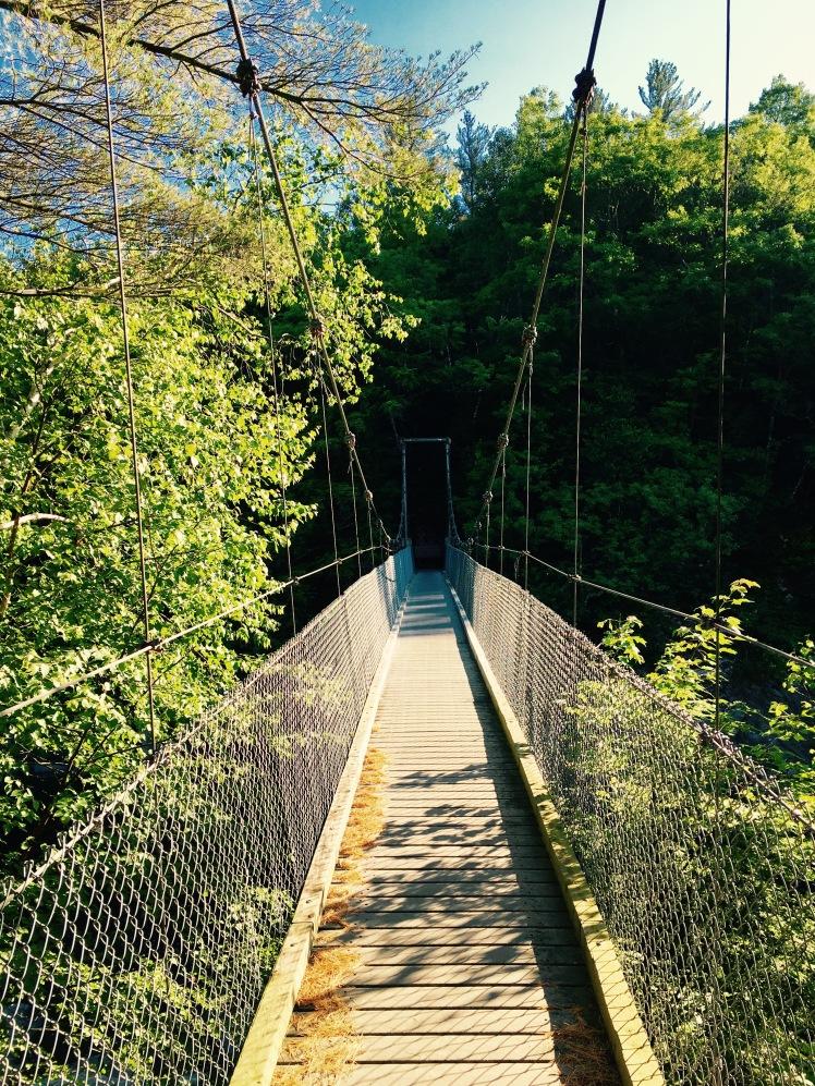 bridge over Lamoille River