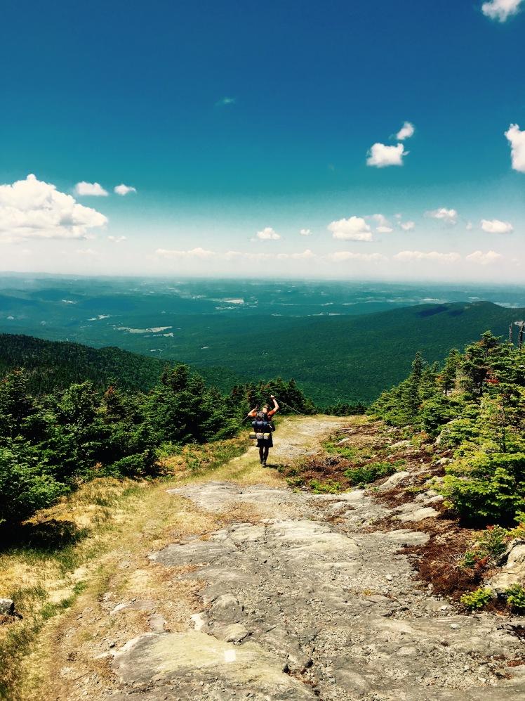 descent of Jay Peak - Hangman