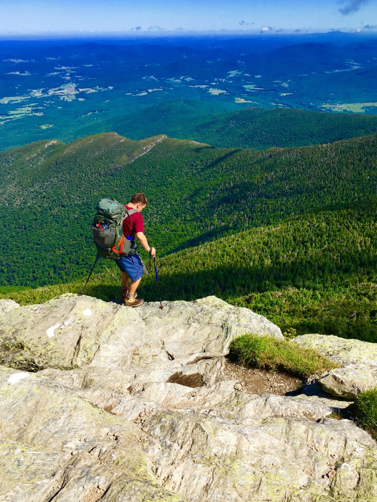 descent of Mount Mansfield - Rabbi's Little Helper