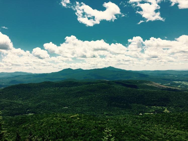 view near Laraway Mountain