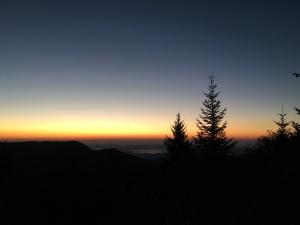 Mt. Hardy - sunrise