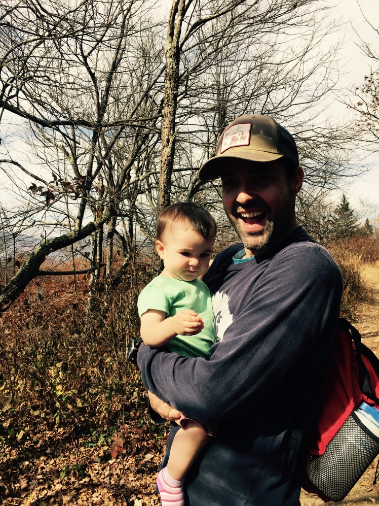 Ivestor Gap Trail - Alice and I (photo by Emily)
