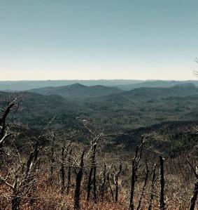 Pilot Rock Trail - mountain vista
