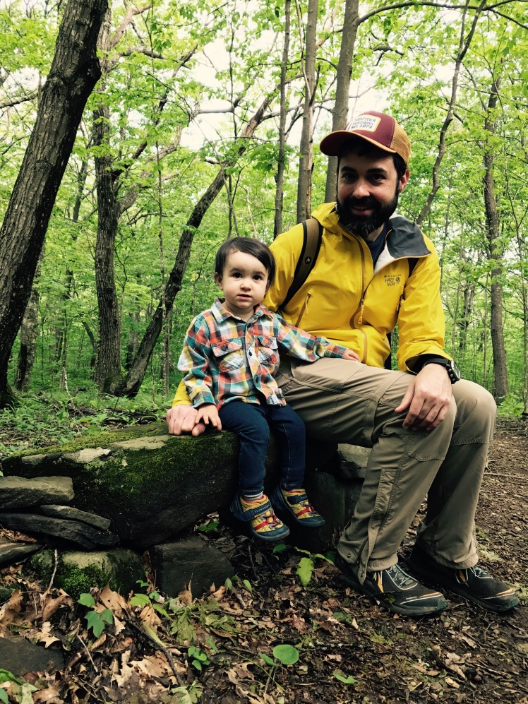 Elk Knob State Park - Alice and I (photo by Emily)