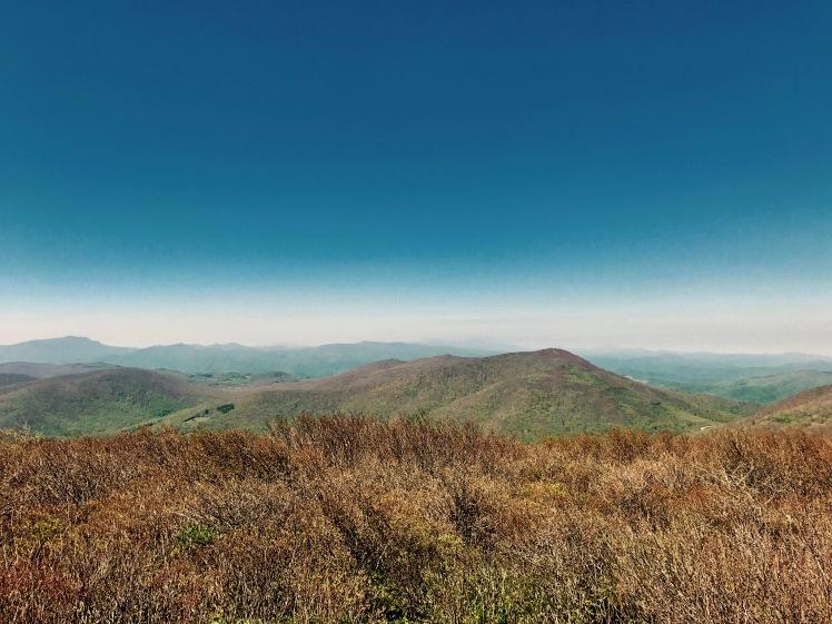 Elk Knob State Park - Summit Trail - south view
