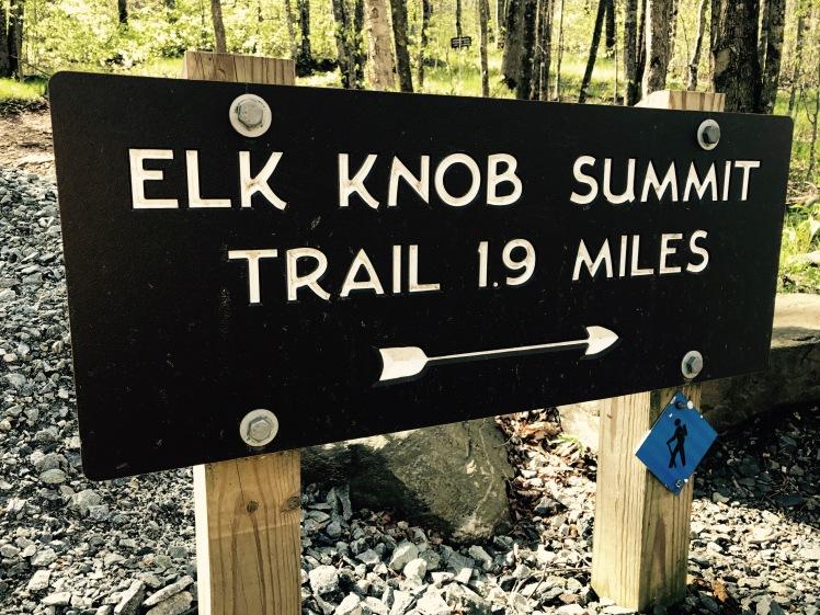 Elk Knob State Park - Summit Trail - trailhead