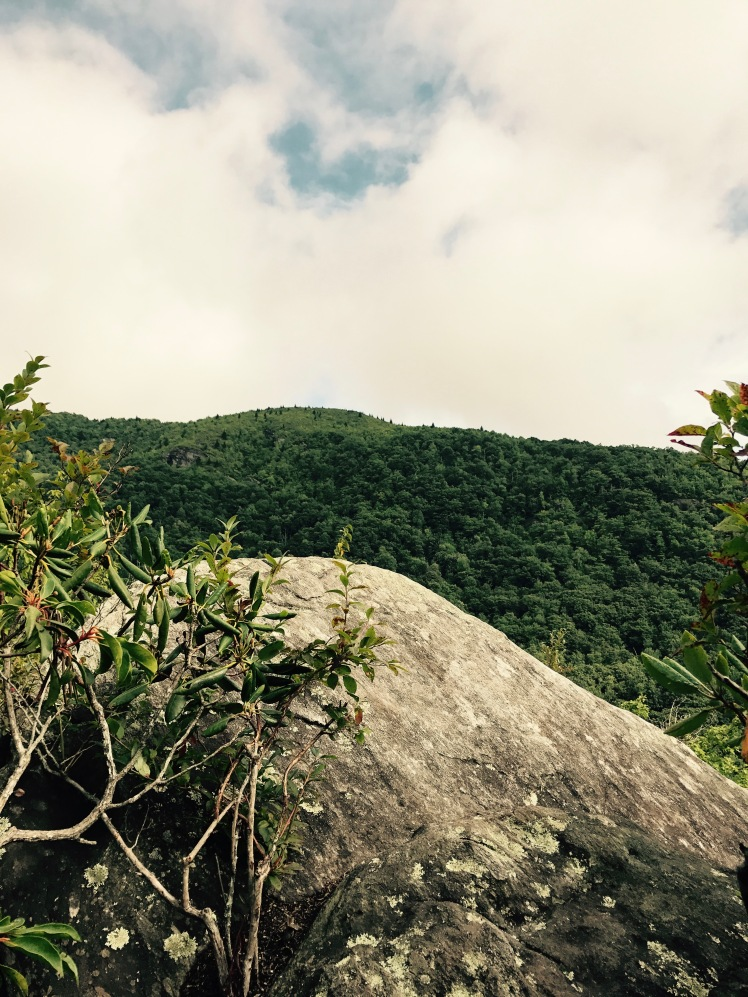 Cragway Trail - rock outcropping