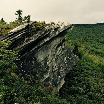 Cragway Trail - rock vista