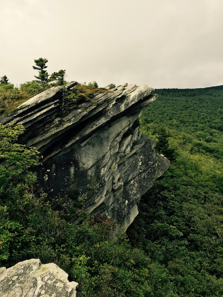 Cragway Trail - rock vista