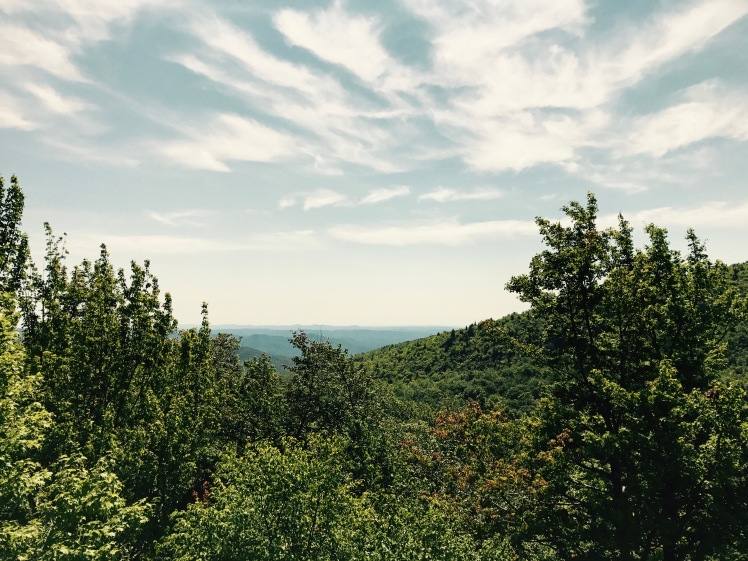 Storyteller's Rock - view of Boone