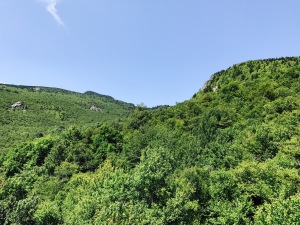 Storyteller's Rock - view of Calloway Peak and the Profile