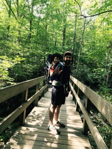 Tanawha Trail - Alice and I