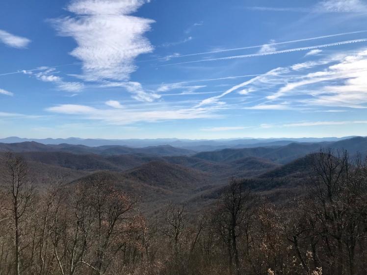 Shut-In Trail - vista