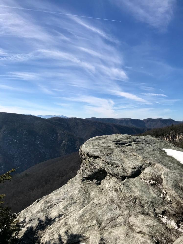 Jonas Ridge Trail - rock vista