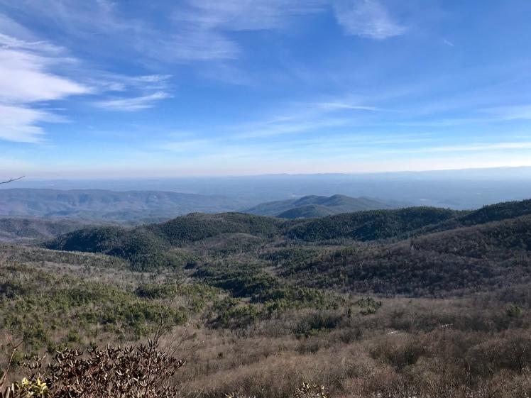 Jonas Ridge Trail - vista