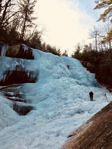Upper Creek Falls Trail - climbers