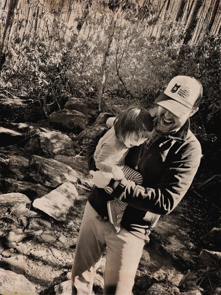 Boone Fork Trail - Alice & Dada