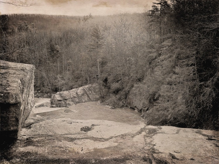 Elk River Falls - top of falls