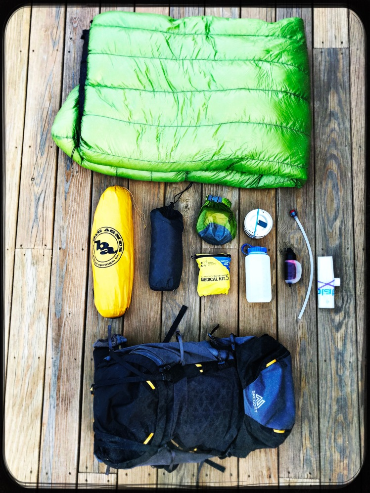 Benton MacKaye Gear List