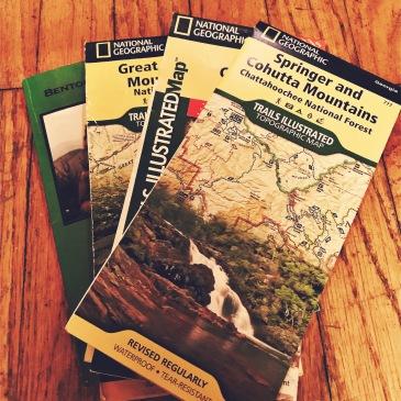Benton MacKaye Trail - maps
