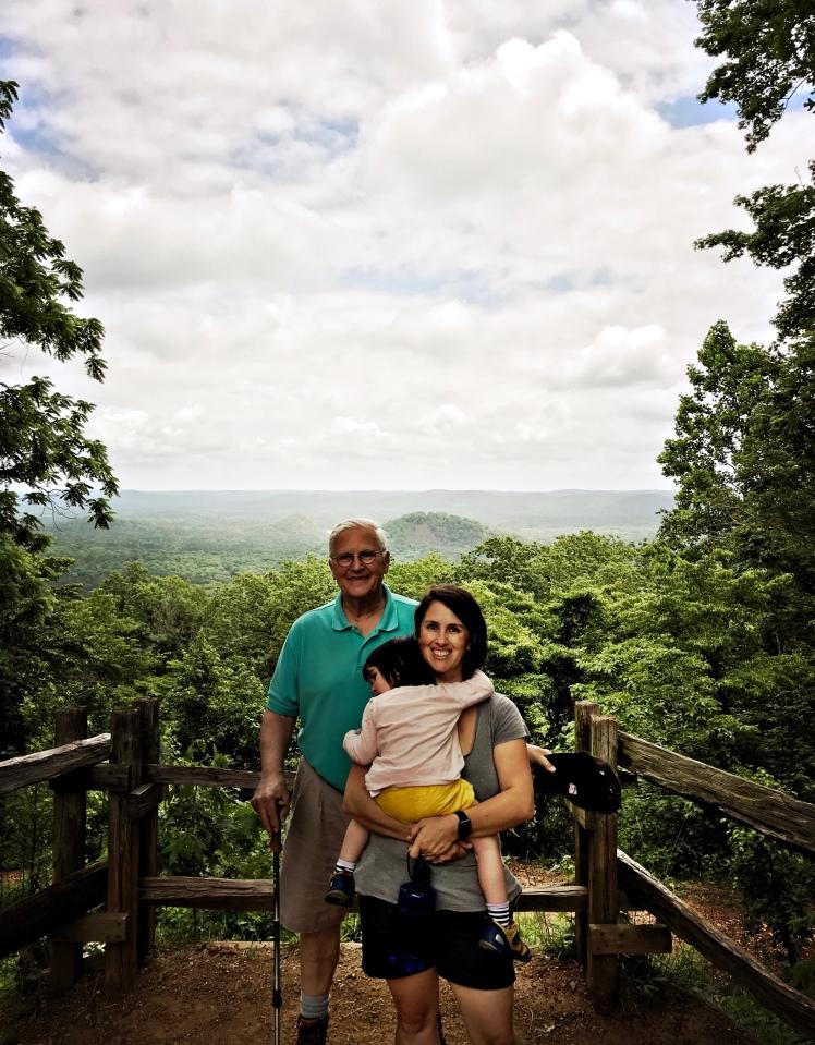 Marrow Mountain State Park - Emily, Alice and Granka